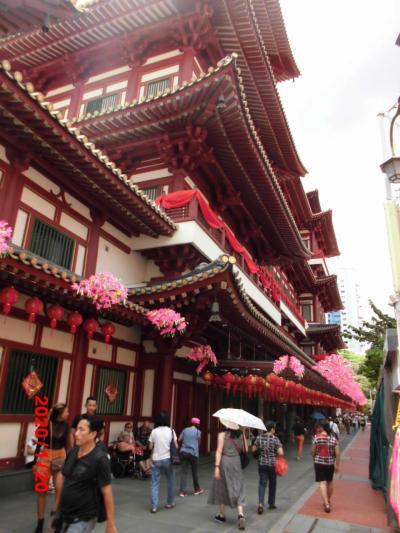ENJOY旅行者必見! シンガポール観光                  ⑤アジアの街巡り 後半