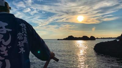 子連れ佐渡島2019鬼ヶ島みたいな海岸線でシーカヤック、シュノーケル、宿根木、達者海水浴