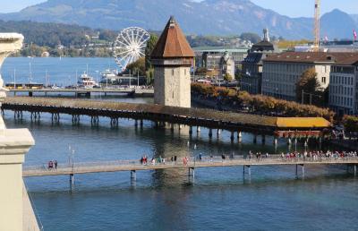 シニアー夫婦のスイスゆっくり旅行30日  (26)モンツァからルチェルンに移動します(10月13日)