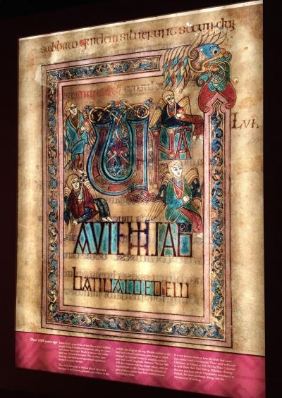 """ロンドン・ナイロビ出張(その54) 14日目-3 おまけのダブリン、""""Book of Kells"""" !"""