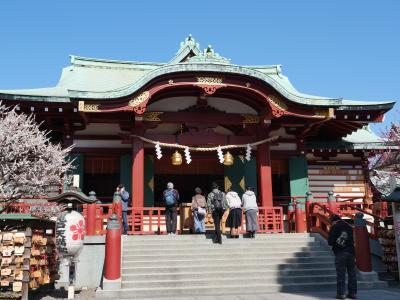 """東京・亀戸天神~香取神社の""""梅まつり2020""""を訪れて"""