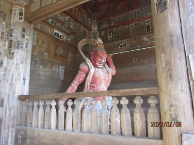 坂東観音霊場巡り(5)鎌倉杉本寺、運慶の仁王門。