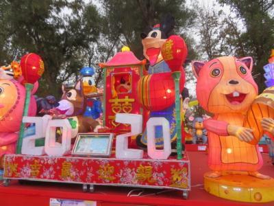 台中・后里の「台湾ランタンフェスティバル」を見てからアイデアグルメ市場に