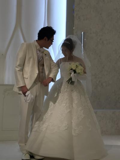 甥っ子の結婚式~我が娘と同年代の夫の甥っ子~おめでとう♪
