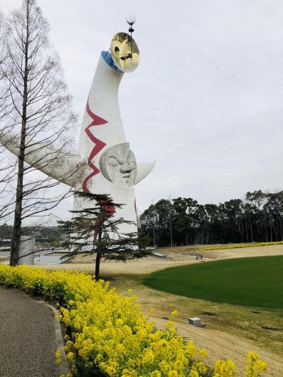 今年の関西旅は、50年ぶりの再会!?太陽の塔ってこんなんだった!?