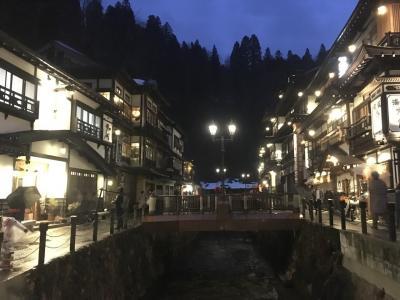 米沢、銀山温泉から東根温泉へ