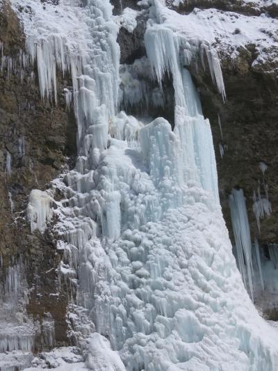 氷の回廊 氷爆 雲竜渓谷行って来たクマその2