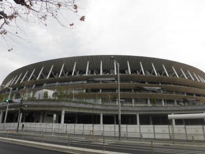 2020冬 東京:ホープ軒と新国立競技場とオリンピックミュージアムとラグビートップリーグ