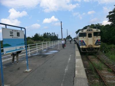 まるごと青森旅・その6.津軽線ローカル列車の旅。