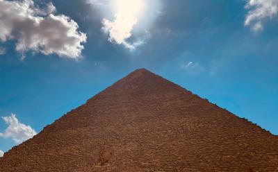 2020.02エジプト ナイル川クルージング ⑤ギザのピラミッド&スフィンクス