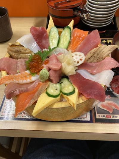 静岡休日乗り放題きっぷでデカ盛り海鮮と昭和レトロの旅(1)