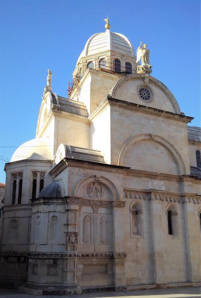 シベニク  街のシンボル 聖ヤコブ大聖堂