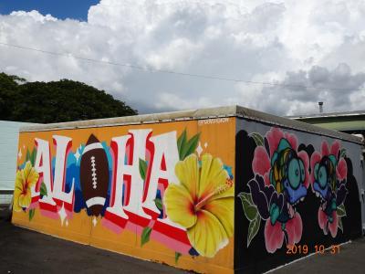 よしくんとちぼの10回目のハワイ 2日目は初のスワップミートへ♪