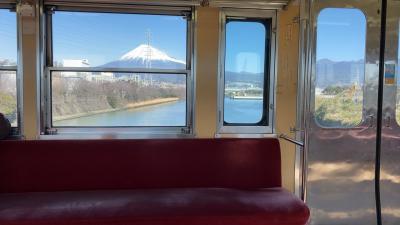静岡休日乗り放題きっぷとデカ盛り海鮮と昭和レトロ旅⑶