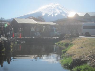 223(ふじさん)の日に富士山を見に行く② 水超きれい!世界遺産富士山を構成する忍野八海へ行ってきた
