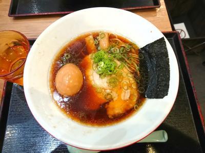 夕暮れの新東京国際空港・らぁめんを食す旅
