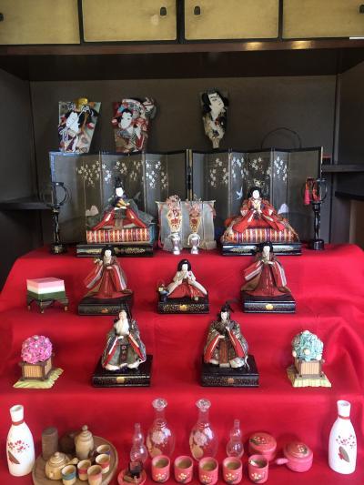 川口市重要文化財洋館の雛人形たち