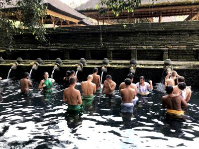 ウブド4泊★3日目 プールでまったり・午後からカーチャーター観光