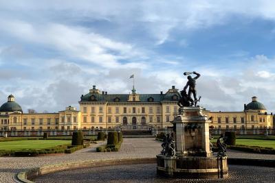 初めての北欧は暖冬 ④ ドロットニングホルム宮殿&衛兵交替式