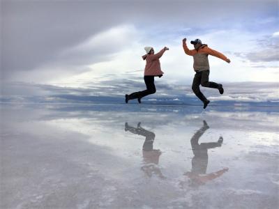マチュピチュ・ウユニの旅--ウユニ塩湖②--