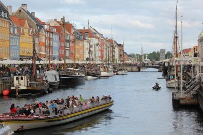 デンマーク旅行記(2)コペンハーゲン街歩き、世界遺産ロスキレ大聖堂訪問