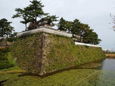 2018年11月 雲仙の仁田峠、雲仙地獄に行った後、島原城と武家屋敷を観光しました。