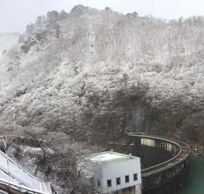 東根温泉から鳴子ダム、花山ダム