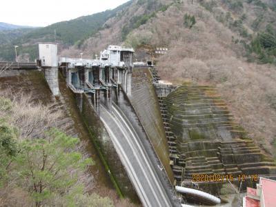 シニアののんびり静岡の旅;二日目(井川ダムと大井川鉄道)