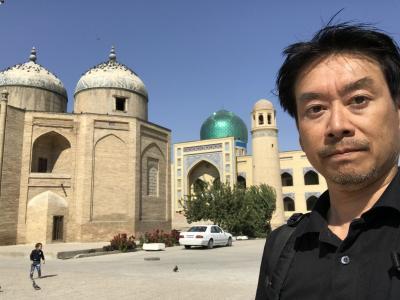 中央アジア2019 11 市場の街ホジャンド(タジキスタン)