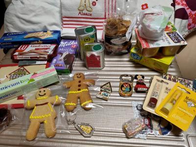 ストラスブールとコルマールのクリスマスマーケット(4、ストラスブールからフランクフルト空港へ 帰国