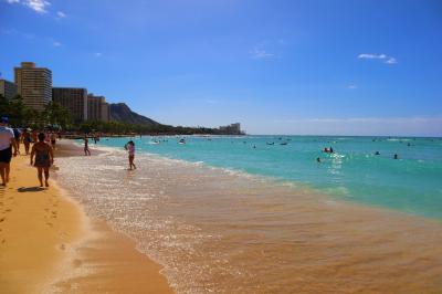 のんびり過ごそう♪女子旅ハワイ☆3日目~帰国 ワイキキビーチ&プール~カフェでまったり☆ルースズのステーキ堪能♪編