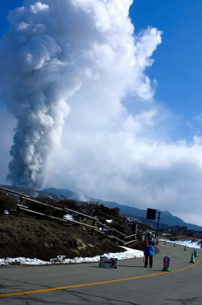 阿蘇山から高千穂峡、熊本空港までドライブ