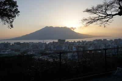 桜島が噴煙をあげてました!城山ホテルの日本一の朝食を食べに(鹿児島空港と鹿児島中央駅利用)
