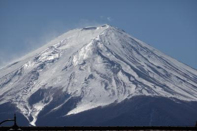 山梨の名旅館 笛吹川温泉「坐忘」と富士山