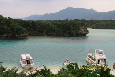 八重山四島の旅⑦石垣島屈指の絶景地である川平湾訪問とグラスボート乗船