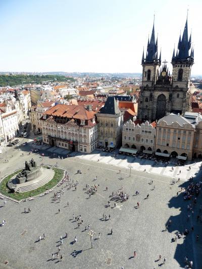 ウイーンから中欧、バルト海を駆け抜けた58日間☆彡 36日目 ・・現か、夢か、プラハ何もかも感動的な街・・