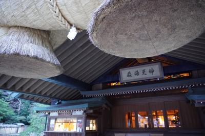 大人休パスの旅、いっぱい温泉に浸かって来ました。出雲大社と日御碕神社 '20/01 No8
