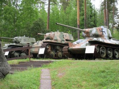 フィンランド パロラ戦車博物館に行ってみた