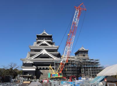 熊本城の特別公開