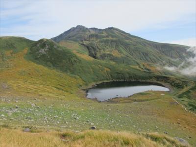 秋の鳥海山笙ヶ岳