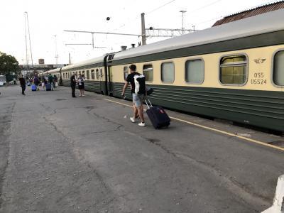 トビリシからバクーへ 夜行列車で移動