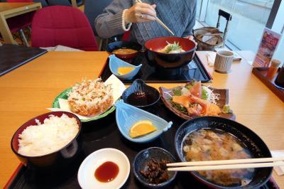 02.早春の鹿児島2泊 清水港 海山(かいざん) 富士山静岡空港店の昼食