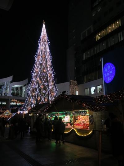 梅田の12月の風物詩、ドイツ・クリスマスマーケット大阪2019