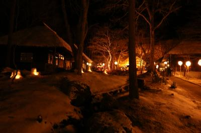 湯西川温泉 かまくら祭り2020