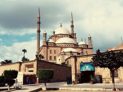 2日目 カイロ到着、モハメッド・アリ・モスク観光
