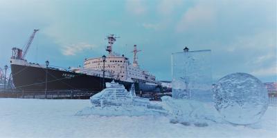 真冬のアルクチカ号一人旅2(ムルマンスク)