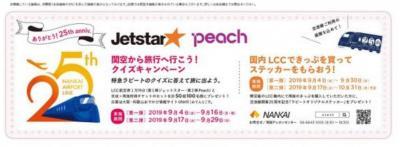 2020FEB「関空から旅行へ行こう!クイズキャンペーン」当選(新型コロナウイルスで中止)