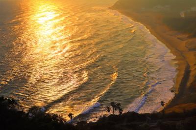 ミステリーツアー☆1日目 グリーン車で浜松城~まるでカリフォルニア!?シービューの絶景 伊良湖ビューホテル♪