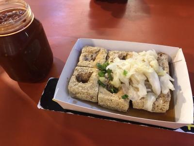 【2019年末台湾・高雄】瑞豊夜市でローカル屋台グルメを満喫/臭豆腐に初挑戦