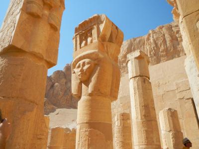 いざエジプトへ・・3日目ルクソール西岸(王家の谷そしてハトシェプスト女王葬祭殿)♪